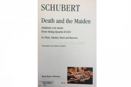 Schubert Death and the Maiden-Wind Quartet-Wind Music Collectionx