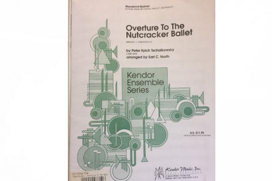 Tchaikovsky Overture to the Nutcracker Ballet-Wind Quintet-Kendor Music