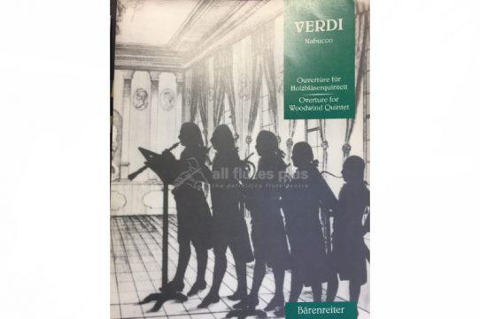Verdi Nabucco Overture-Wind Quintet-Barenreiter