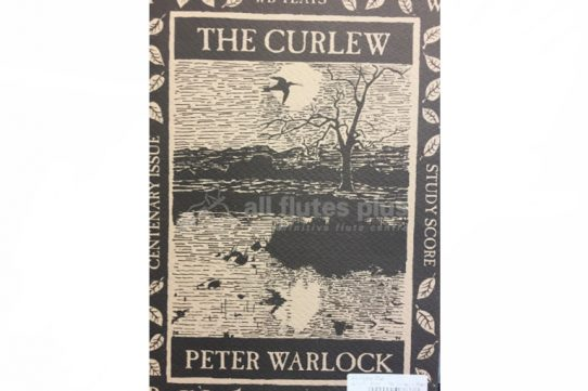 Warlock The Curlew-Centenary Issue-Study Score-Flute, Cor Anglais and Tenor Voice-Thames