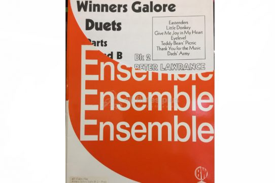 Winners Galore Duets Book 2-Flexible Brass/Woodwind Ensemble-Brasswind Publications