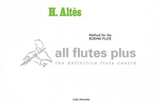 Altes Method for Boehm Flute-Carl Fischer