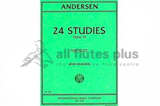 Andersen 24 Studies for Flute Opus 15-IMC