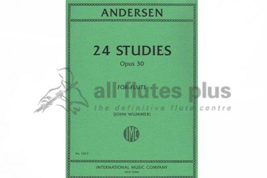 Andersen 24 Studies for Flute Opus 30-IMC