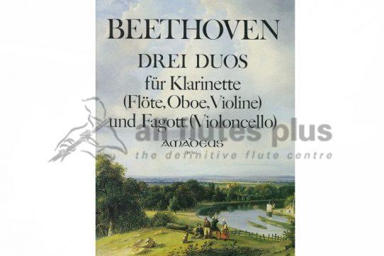 Beethoven Three Duos-Flute and Cello-Amadeus