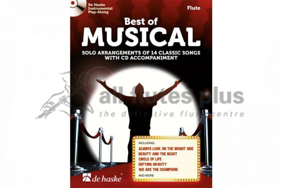 Best of Musical Flute-Flute Book and CD-De Haske