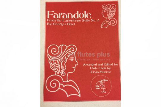 Bizet Farandole from the L'arlesienne Suite No 2-Flute Choir-Little Piper