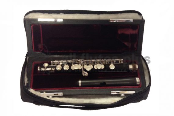 Burkart and Phelan Grenadilla Secondhand Piccolo with Traditional Headjoint-c8256