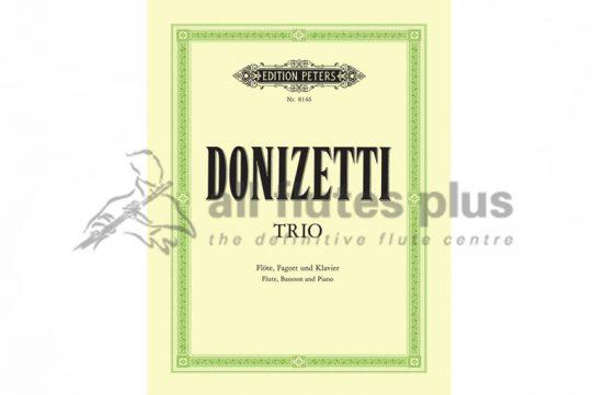 Donizetti Trio-Flute, Bassoon and Piano-Peters
