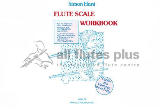 Flute Scale Workbook-Simon Hunt-Pan Educational Music