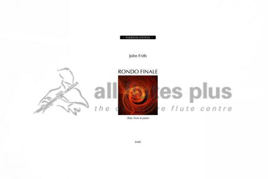 Frith Rondo Finale-Flute Horn and Piano Trio-Emerson