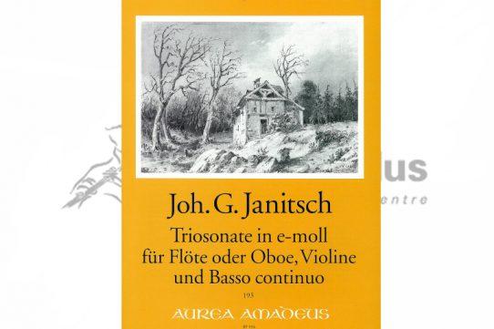 Janitsch Quartet in E Minor Op 2/1-Flute Viola and Basso Continuo-Amadeus