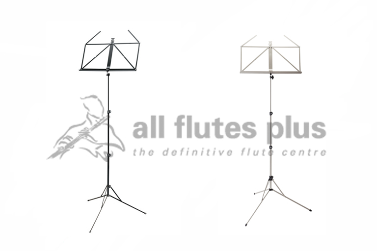 K M 101 Music Stand Black Or Nickel Coloured
