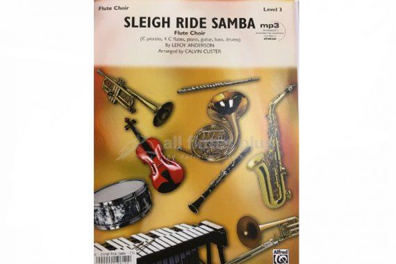Sleigh Ride Samba-Level 3-Flute Choir-Alfred