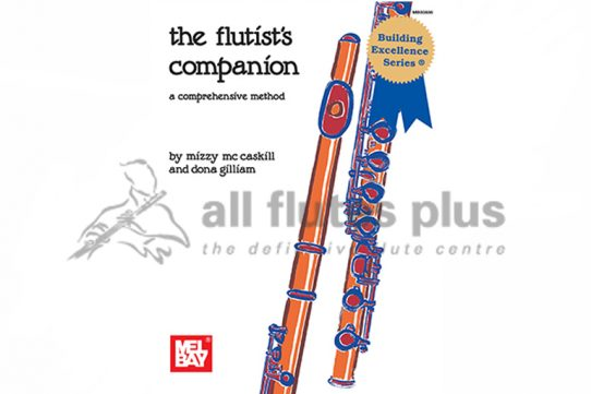 The Flutist's Companion Book-Mizzy McCaskill and Dona Gilliam-Mel Bay