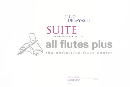 Uebayashi Suite-Flute and Cello-Leduc