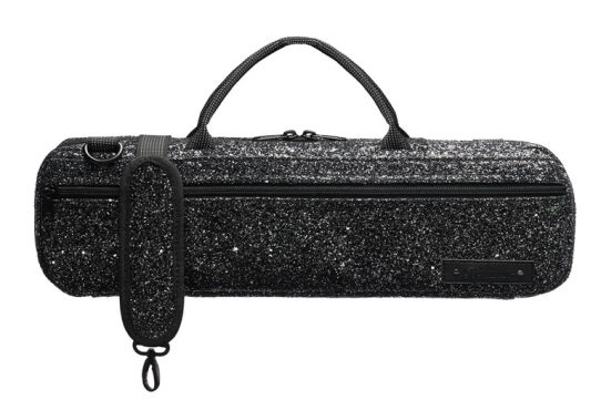 Beaumont Music Black Sparkle B-foot Flute Bag