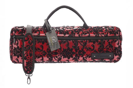 Beaumont Music Burgundy Lace B-Foot Flute Bag