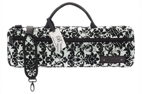 Beaumont Music Mint Lace B-foot Flute Bag