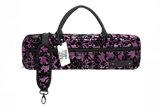 Beaumont Music Purple Lace B-Foot Flute Bag