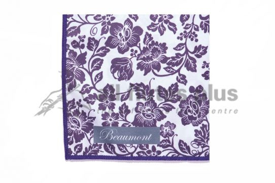 Beaumont Small Microfibre Instrument Polishing Cloth-Damson Lace