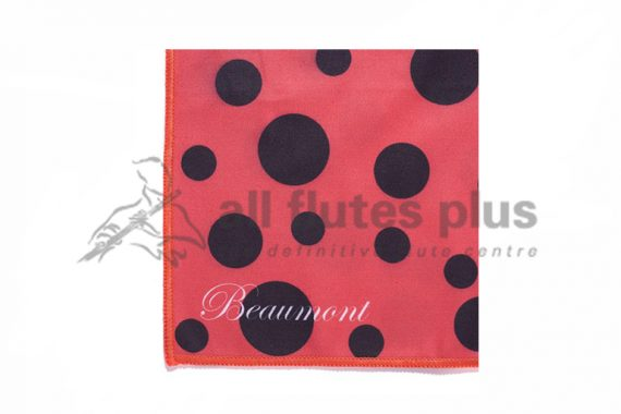 Beaumont Small Microfibre Instrument Polishing Cloth-Ladybird