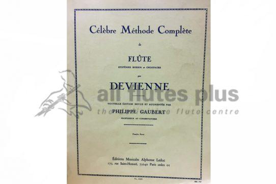 Devienne Celebre Methode Complete de Flute Volume 1-Leduc