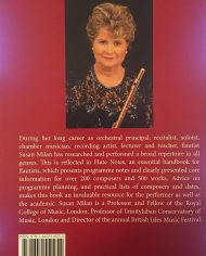 Flute Notes 3rd Edition-A Performer's Handbook of Programme Notes by Susan Milan-Back Cover