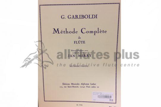 Gariboldi Methode Complete for Flute Part Two-Leduc