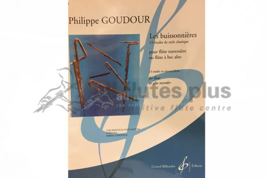 Goudour Les Buissonnieres-13 Studies in Classical Form-Billaudot