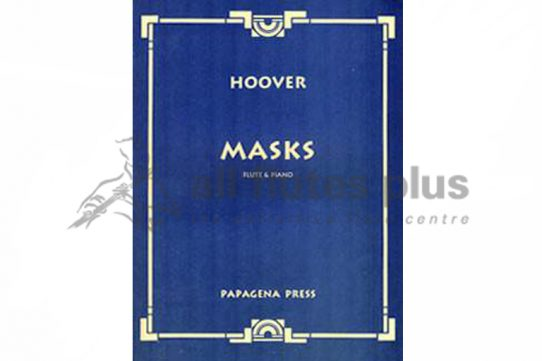 Hoover Masks-Flute and Piano-Papagena Press