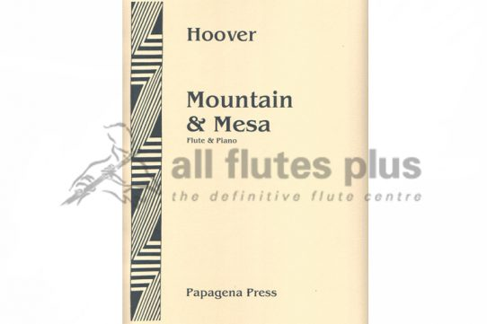 Hoover Mountain and Mesa-Flute And Piano-Papagena Press