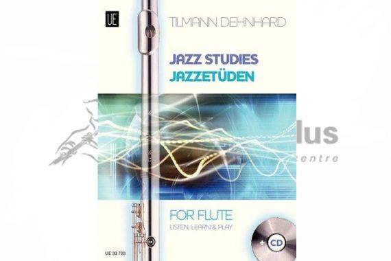 Jazz Studies for Flute-Tilmann Dehnhard-Flute with CD-Universal