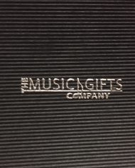 Music Gift Company Box