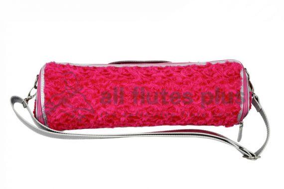 Nuboo Pink Fluffy C-Foot Flute Case