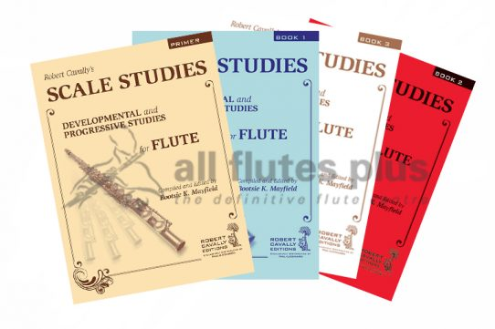 Scale Studies-Developmental and Progressive Studies for Flute-Robert Cavally Editions