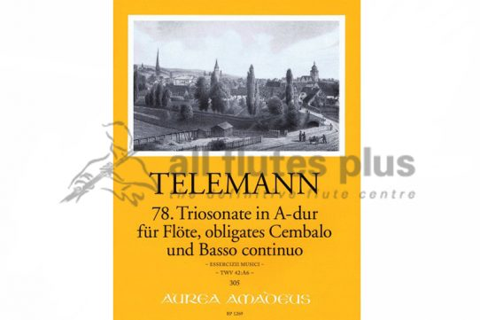 Telemann Trio Sonata in A Major from TWV 42:A6 Essercizii Musici-Amadeus