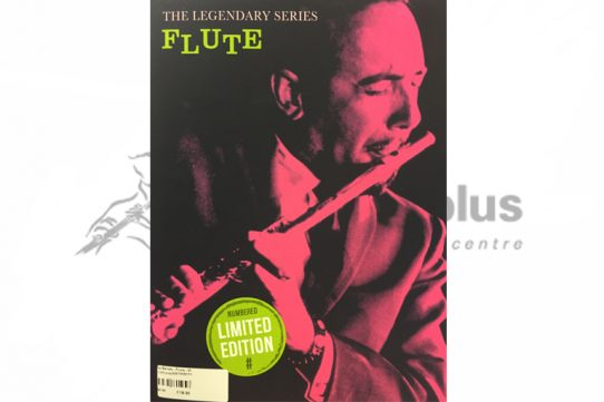 The Legendary Series Flute Album-Solo Flute with piano/guitar symbols-Musicsales