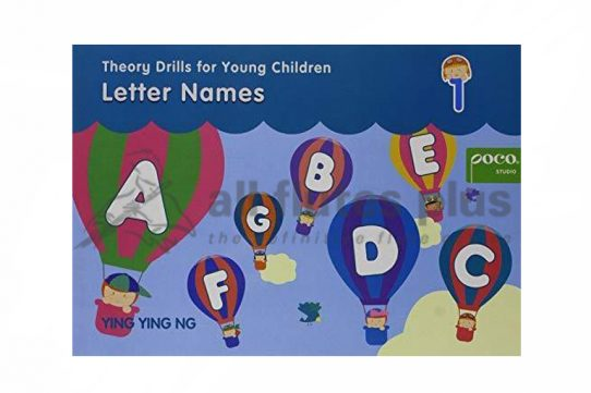 Theory Drills For Young Children-Letter Names-Ying Ying Ng-Alfred