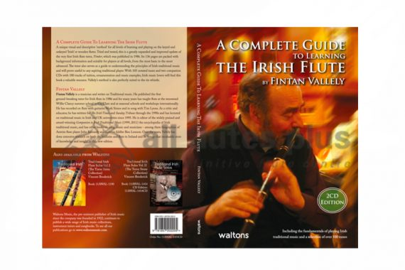 A Complete Guide to Learning the Irish Flute 2nd Edition-Fintan Vallely