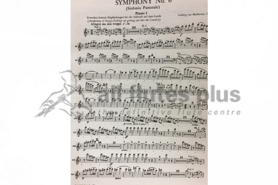 Beethoven Pastoral Symphony No 6-Flute 1 Part-Little Piper