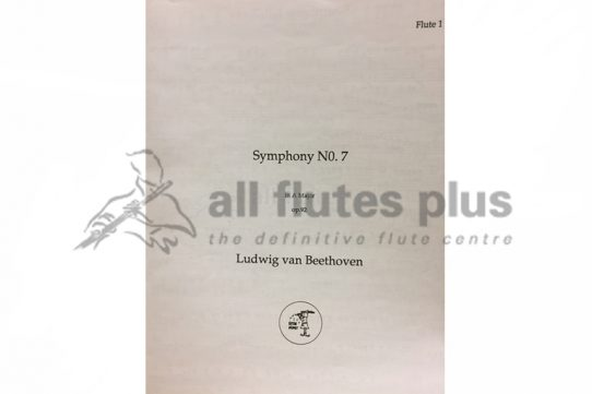 Beethoven Pastoral Symphony No 7 in A Major Op 92-Flute 1 Part-Little Piper