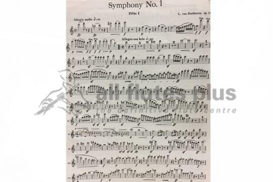 Beethoven Symphony No 1-Flute 1 Part-Little Piper