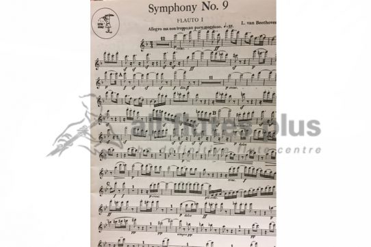 Beethoven Symphony No 9-Complete Orchestral Parts-Little Piper