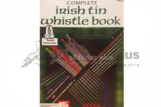 Complete Irish Tin Whistle Book-Mel Bay