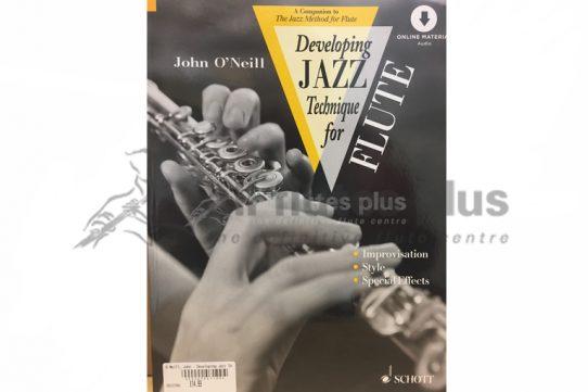 Developing Jazz Technique for Flute-O'Neill-Schott