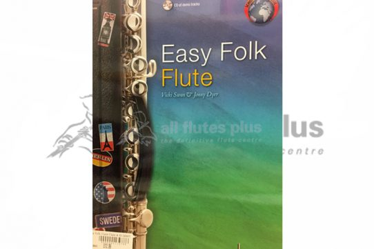Easy Folk Flute-Flute with Demo CD-Schott