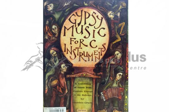 Gypsy Music for C Instruments-Spartan Press