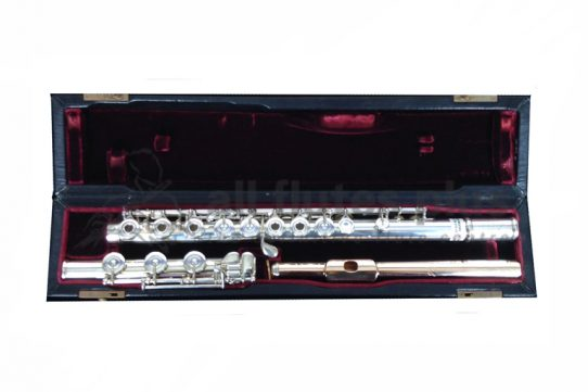 Jack Moore Handmade Silver Secondhand Flute-C8953