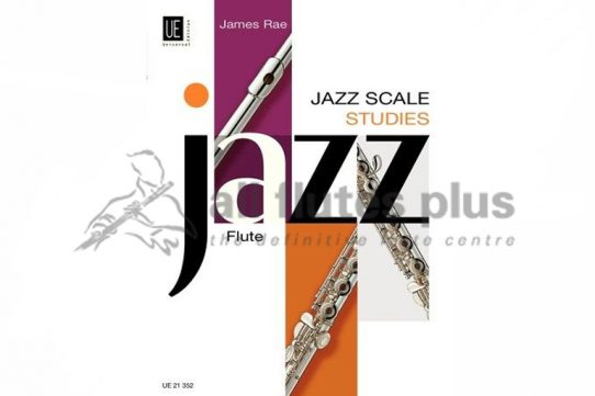 Jazz Scale Studies Flute-James Rae-Universal Edition